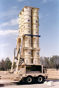 Arrow 2 launcher. Circa 2006–2007.