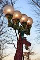 Art Deco 'Hirschlampen' von Bruno Weber im Abendlicht auf dem Uetliberg in Zürich 2013-11-27 16-17-02.JPG