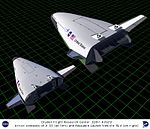 Artist concept of X-33 and Reusable Launch Vehicle (RLV) DVIDS713464.jpg