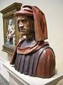 Artista fiorentino, ritratto di Lorenzo de' Medici, terracotta policroma, probabilmente da un modello di verrocchio e orsino benintendi, XV-XVI sec 04.JPG