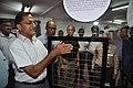 Arun Goel Checks Velvet Hand Illusion Exhibit - NCSM - Kolkata 2018-09-23 4440.JPG