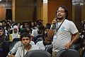 Ashiq Shawon Interacting - Bengali Wikipedia in Ten Years - Challenges and Experience - Bengali Wikipedia 10th Anniversary Celebration - Daffodil International University - Dhaka 2015-05-30 1567.JPG