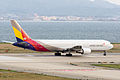 Asiana Airlines, OZ113, Boeing 767-38E, HL7248, Departed to Seoul, Kansai Airport (16989975987).jpg