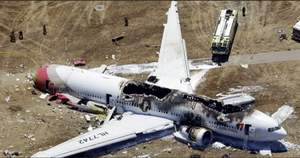 Hull loss - Image: Asiana Airlines Plane Crash