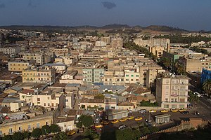 Panorama of Asmara