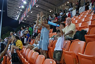 Bishan Stadium - Image: Athletics at the 2010 Summer Youth Olympics, Bishan Stadium, Singapore 20100823 268