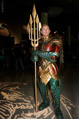 Cosplayer - Aquaman, 2013