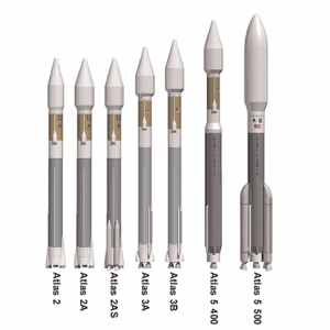Atlas (rocket family) - Atlas II, III and V comparison