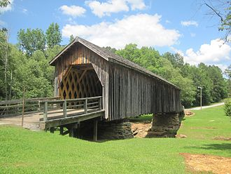 Upson County, Georgia - Auchumpkee Creek Covered Bridge