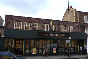 Stonegate Pub Company - The Auctioneer (now The Lost Hour), an unbranded Stonegate pub in Greenwich, London.