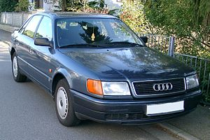 J Mays - Mays worked on the 1991 Audi 100 design team