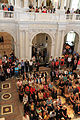 Audience attending speech by John Lewis in the Great Hall of the Library of Congress - 50th Anniversary of the Civil Rights March on Washington for Jobs and Freedom.jpg