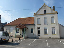 The town hall of Audrehem