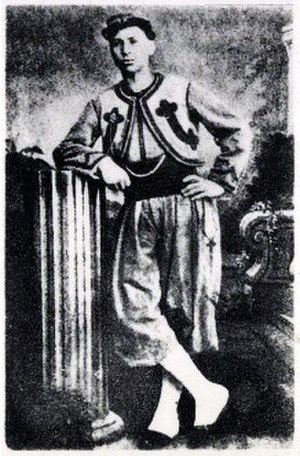 Prosper Philippe Augouard - Philippe Augouard in 1871, as a Papal Zouave