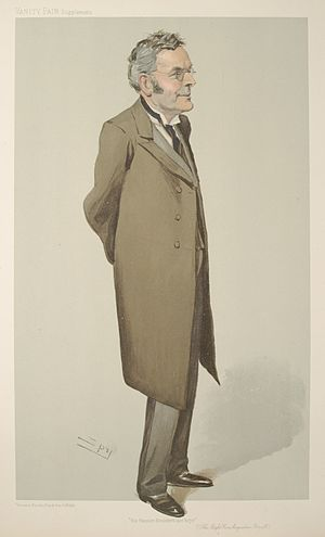 Augustine Birrell - Birrell caricatured by Spy for Vanity Fair, 1906