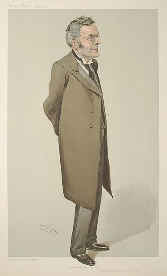Augustine Birrell - Birrell caricatured by Spy for Vanity Fair, 1906