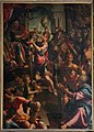 Aurelio lomi, San Sebastiano davanti all'imperatore romano 00.jpg