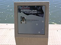 Australian of the Year 1971 sign (2948668141).jpg