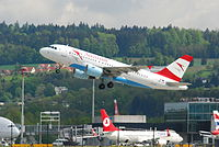OE-LDF - A319 - Austrian Airlines