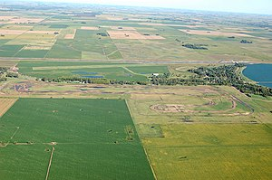 Pampas - View of the northern Pampas grain belt