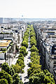 Avenue Kléber from the Arc de Triomphe, Paris 20 August 2013.jpg