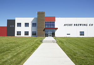 Avery Brewing Company - Avery Brewing Company's new brewery opened in February 2015 in Boulder, Colorado.