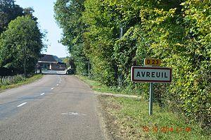 Avreuil - Image: Avreuil Entry