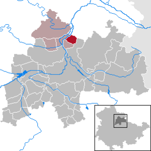 Büchel, Thuringia - Image: Büchel in SÖM
