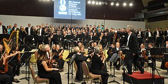 BBC National Orchestra of Wales - The BBC National Orchestra of Wales performing in Trelew, Chubut Province, Argentina.
