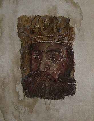 "Lazar of Serbia - Remainings of medieval Serbian ""freska"""