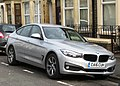 BMW 320D Gran Turismo 1995cc registered June 2016.jpg