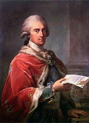 Frederick Augustus I of Saxony - Frederick Augustus, by Bacciarelli