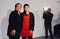 Backstage sesión de fotos candidatos Nueva Mayoría Michelle Bachelet y Karol Cariola (2).jpg