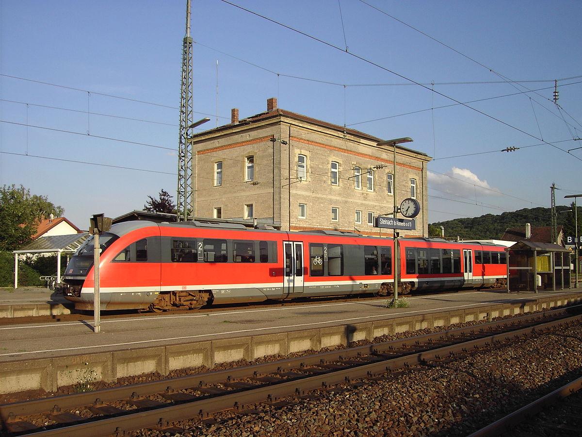 steinach  b rothenburg o  d  tauber  station