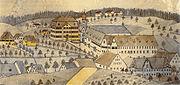 Baindt Kloster Ansicht