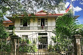 Bago, Negros Occidental - Image: Balay Ni Tan Juan Museum in Bago City