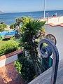 Balcony ironwork of Adamson house.jpg