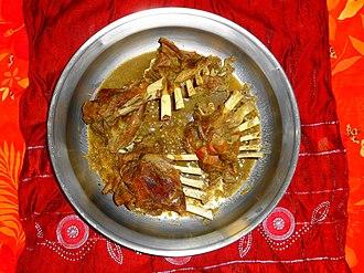 Balochi cuisine - Image: Balochi Namkeen Roast