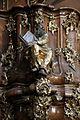 Bamberg, Kloster Michelsberg, Pulpit 013.JPG