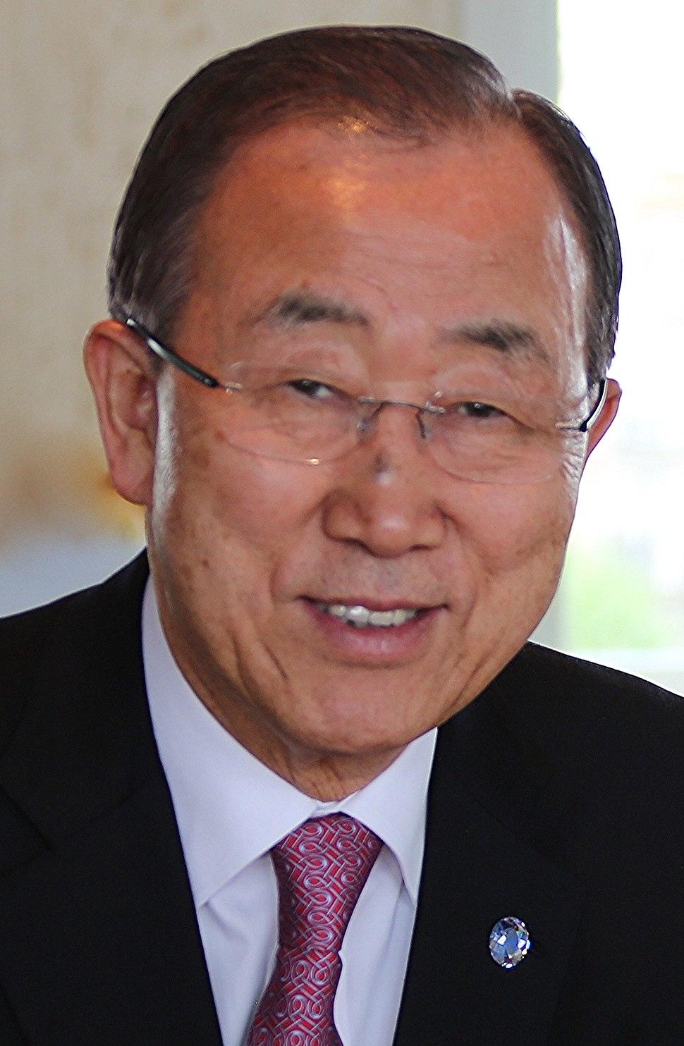 Ban Ki-moon April 2015