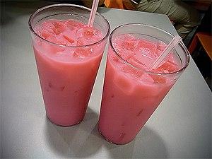Bandung (drink) - Two Bandung drinks