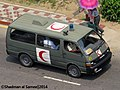Bangladesh Army Toyota HiAce H100 Ambulance (23328585980).jpg