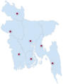 Bangladesh Premier League Season Four Locations.png