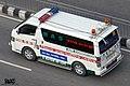 Bangladesh Toyota Hiace civil ambulance (29340700152).jpg
