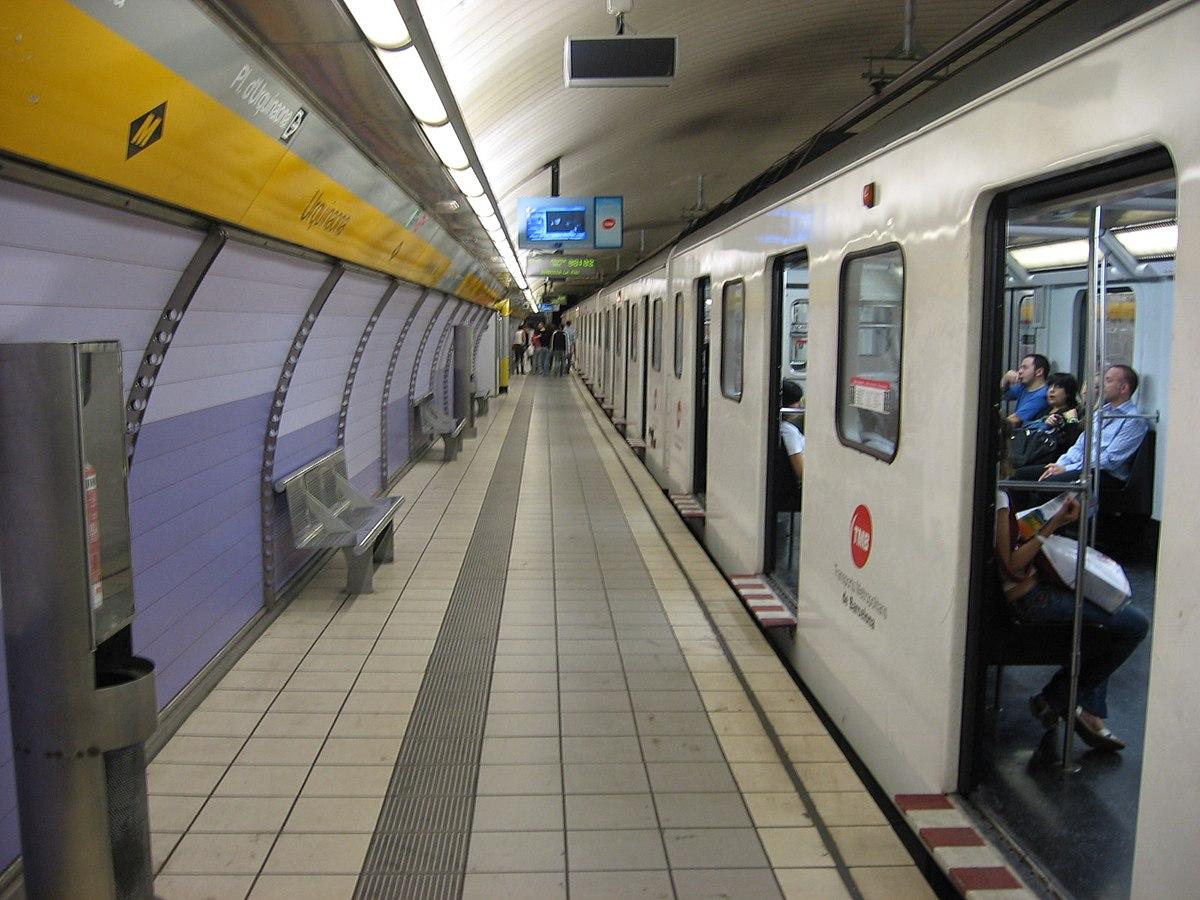 Urquinaona (Barcelona Metro) - Wikipedia