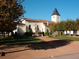 The church in Barisey-au-Plain
