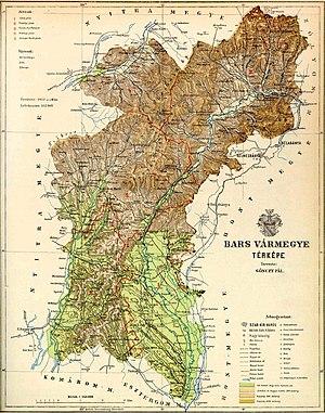 Bars County - Map of Bars County