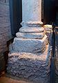 Base i fonament d'una columna del fòrum de Valentia, Centre Arqueològic de l'Almoina.JPG