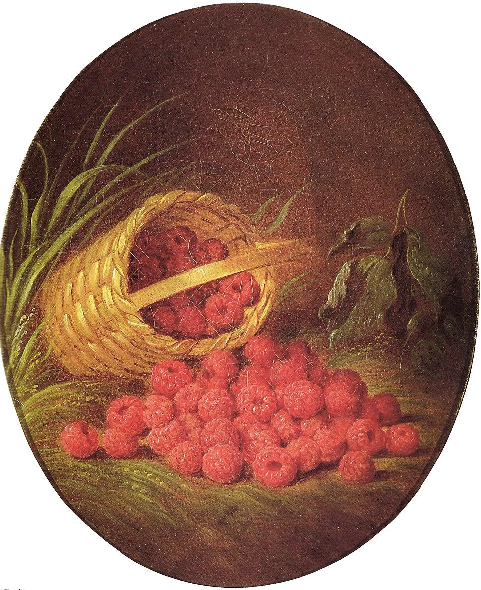 Basket of berries sarah miriam peale