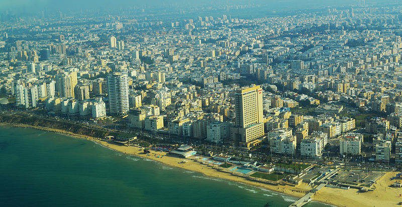 File:Bat Yam Waterfront Aerial View.jpg